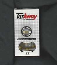 Tar Away Cigarette Filter 30 Filters Blocks Tar and Nicotine Stop Smoking Helper