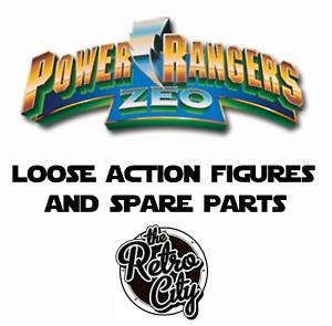 Vtg Power Rangers Zeo Figures Megazords Spare Parts Weapons & Accessories 90s