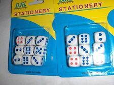 18 1/2 inch Game replacement dice Chinese Checker Aggravation monopoly cup 12 mm