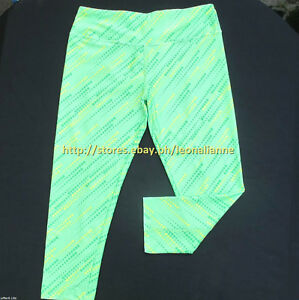 AUTH LULULEMON ATHLETICA CAPRI CROPPED STRETCHY LEGGINGS 12 / X-LARGE #10 BNEW