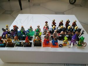 Lego Lotto minifigures serie disney 1, movie 2 , batman 1 ,18,16,17, ninjago ,Dc
