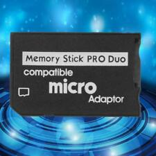Micro SD TF to Memory Stick MS Pro Duo Reader for Adapter Converter CZ #L~