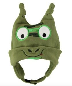 Converse Baby Infant Hat Green With Face New