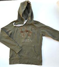 H&M Hoodie Kapuzenpullover Sweatshirt Pulli Pullover oliv grün Gr.S
