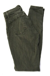 J Brand Green 2 Pocket 485V080 Super Skinny Leg Jeans Size 25