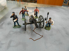 54mm Frontline Toy Soldiers Union Artillery - no boxes