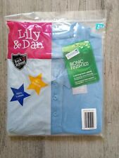 New Girls Blue Polo Shirt 6-7 Years