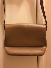Salvatore Ferragamo Tan Leather  Hobo Handbag Purse