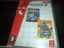 Arcade collection  Ultra pinball thrillride & Pro pinball big race us   pc  game