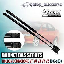 Pair Gas Bonnet Struts for Holden Commodore VT VX VU VY VZ Monaro Statesman WH