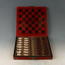 Chinese Beautiful Wooden Handmade International Chess Shelf MY0615