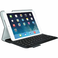 Logitech Wireless Ultrathin Keyboard Folio Case iPad Mini 1, 2 & 3 Carbon Black