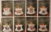 Lot of 30 Christmas Angels Kits - Counted Cross Stitch $3ea DFN/Janlynn Manufact