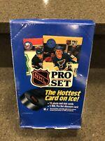 (1) 1990-91 Pro Set Series 1 NHL Hockey Factory Sealed Box, 36 Packs - Great RCs