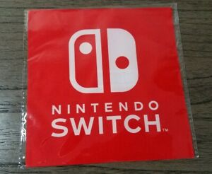 Nintendo Switch MicroFiber Screen Cleaning Cloth Launch Promo Swag - Rare!