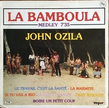 La Bamboula - Medley - John Ozila - Vinyl Maxi 45T