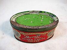 RARE THORNE'S TOFFEE TIN SOUVENIR OF AUSTRALIA'S VISIT 1926.
