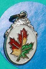 Charm Z35 Maple Leaf Sterling Silver Vintage Bracelet