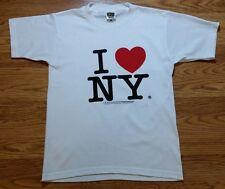 """Classic """"I Love NY"""" White t-shirt (S)"""