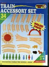 MAXIM 50199 34-Piece Exp Track/Access Set-1999-Solid Wood~Thomas~Boys & Girls-3+