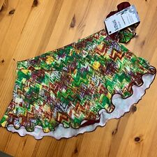 New listing NWT  Adult S  Icings Originals Multi Colored Skating Skirt