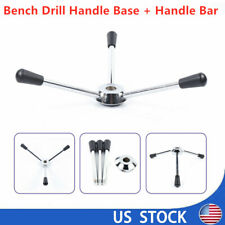Cnc Drill Press Machines Parts Feed Hub Wheel & 195mm Handle Part Bench Drill