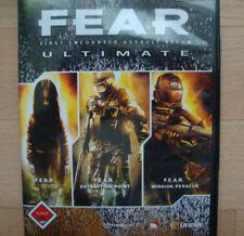 F.E. A.R. TRILOGY 1 + 2 + 3 Fear TRILOGY PC IN DVD guscio con istruzioni