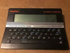 Franklin Language Master 3000 Electronic Dictionary & Thesaurus Lm-3000B