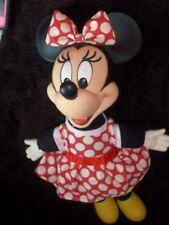 "New listing Vintage Disney Minnie Mouse Plush Stuffed Toy plastic head/hands/feet 15"""