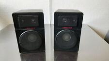 kleine Lautsprecherboxen Aluminiumgehäuse schwarz