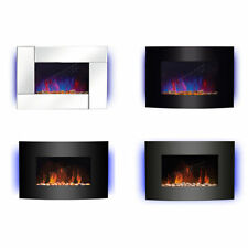 Wall-Hung Electric Fire Flueless Fireplaces