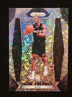 2017-18 Panini Prizm Bam Adebayo FAST BREAK DISCO PRIZM #51 SP RC PSA READY MIA