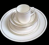 37 Piece fine bone china Royal Dinner set with serving wares 6 place setting