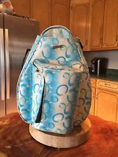 Jet Pac Life is Tennis Bag Backpack Sports Travel Cute Colorful Fun.Excellent