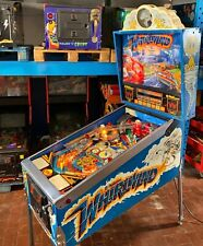 Pinball Williams WHIRLWIND 1990 Flipper Full Working - Very Rare Pinball Machine