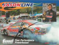 Jason Line Signed 8x10 Photo Summit Racing