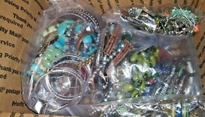 Huge 14lb Lot Of Awesome All Wearable, Jewelry Signed Silver Turquoise Napier