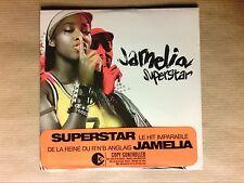 RARE CD SINGLE 2 TITRES / JAMELIA / SUPERSTAR / NEUF SOUS CELLO