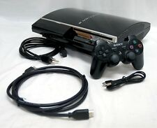 EARLY 3.41 FIRMWARE Sony PS3 80GB HDMI Video Game System Console tower CECHG01