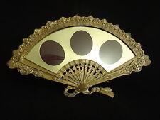 Antique/Vintage ornate Victorian brass fan shaped picture frame