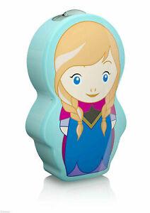 Philips Disney Frozen Princess Anna, Children's Toy Night Light and Flashlight