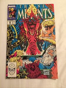 THE NEW MUTANTS #85 LIEFELD & McFARLANE Cover [Marvel Comics, 1990]