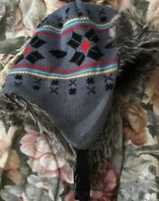 Free Authority Peruvian Geo Acrylic Fur Polyester Lined Trapper Hat OS
