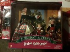 BARBIE HOLIDAY SISTERS Gift Set STACIE BARBIE KELLY DOLLS (1998) 19809 Mattel