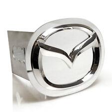 Mazda 3D Chrome Logo Tow Hitch Cover Plug