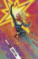 Marvel Captain Marvel #23 russell Dauterman Pre-Order 11/4 FREE BAG BOARD!