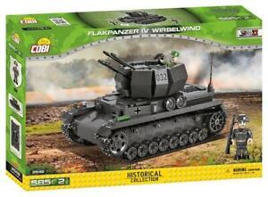 WWII Flakpanzer IV Wirbelwind - COBI 2548 - 585 Bricks