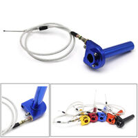 7/8'' Quick Action Throttle Grip & Cable For Pit Bike 50-125cc Motorcycle