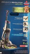 brand new BISSELL ProHeat 2X Revolution Pet Pro Carpet Cleaner (1986)