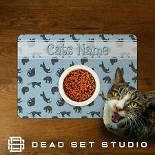 Personalised Pet Place Mat Custom Pet Food Mat Cat Feeding Mat Pet Gift